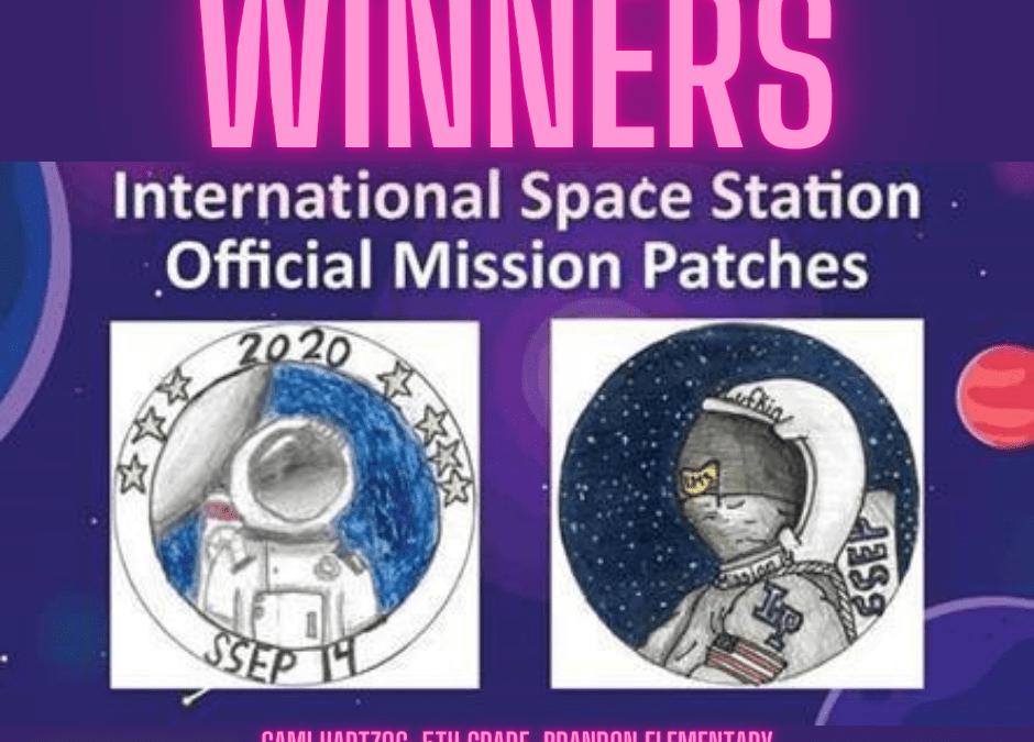 Winners:  Lufkin Mission Patches to Go to Space Station