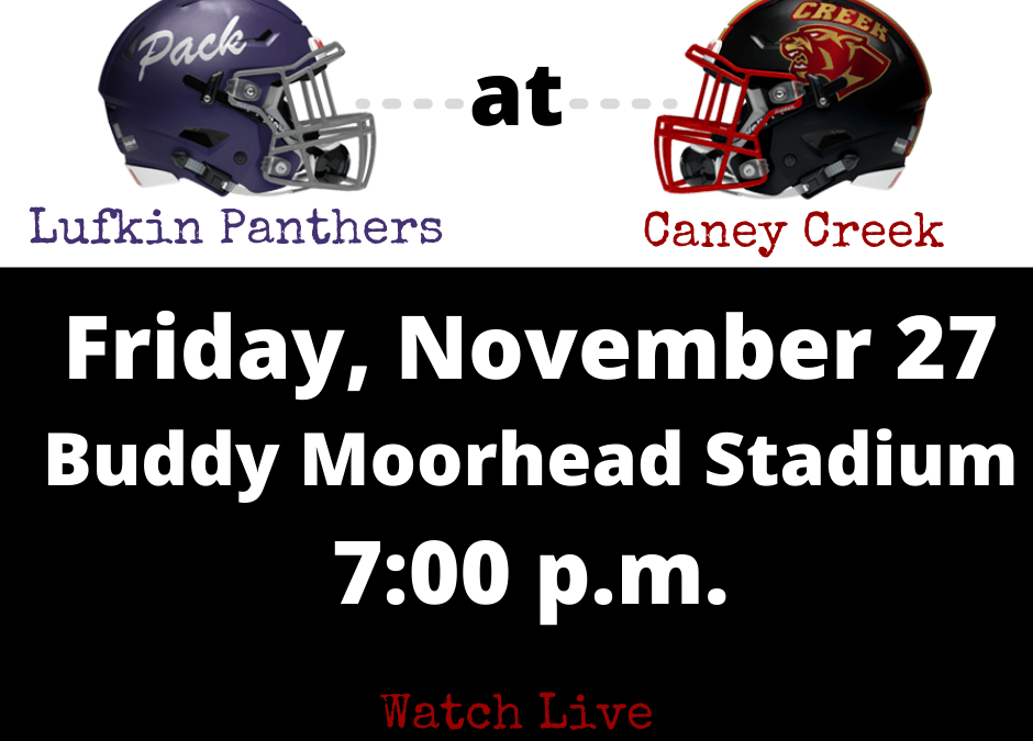 Watch Pack Football at Caney Creek