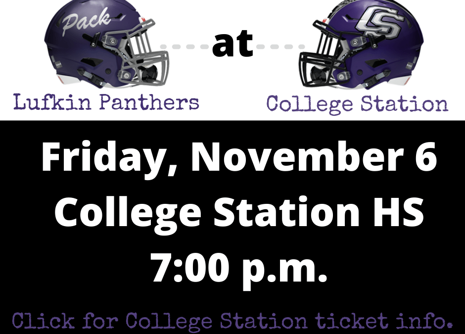 Ticket and Live Stream Info for the Pack @ College Station