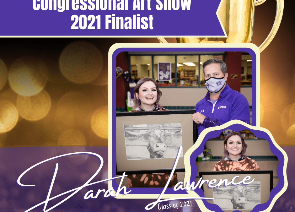 Senior Art Student Selected as Finalist in Congressional Art Show