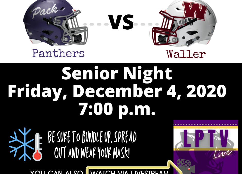 Pack takes on Waller for Senior Night