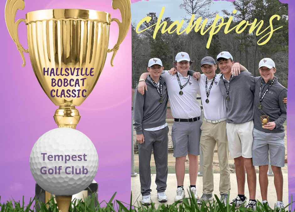 Boys Golf Earns a Win at Tournament