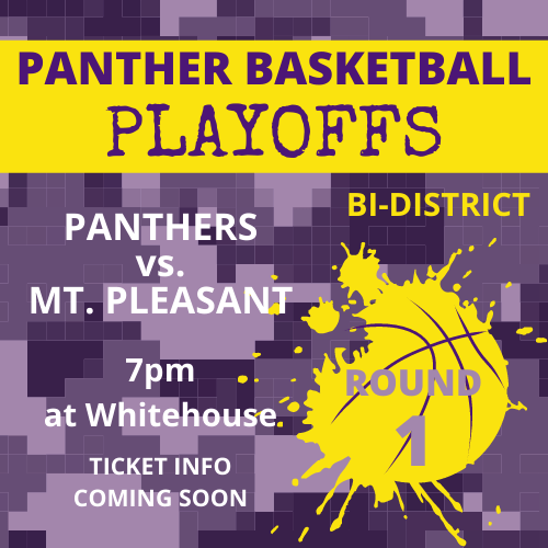 Panther Basketball – Round 1 Play