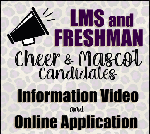 Cheer Tryout Update for LMS and Freshman Squads