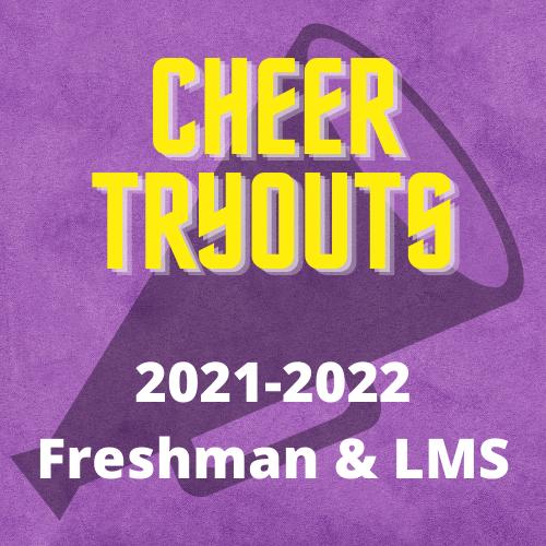 LMS and Freshman Cheer 2021-2022