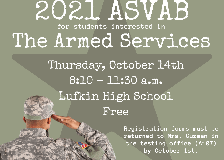 For Students Interested in The Armed Services