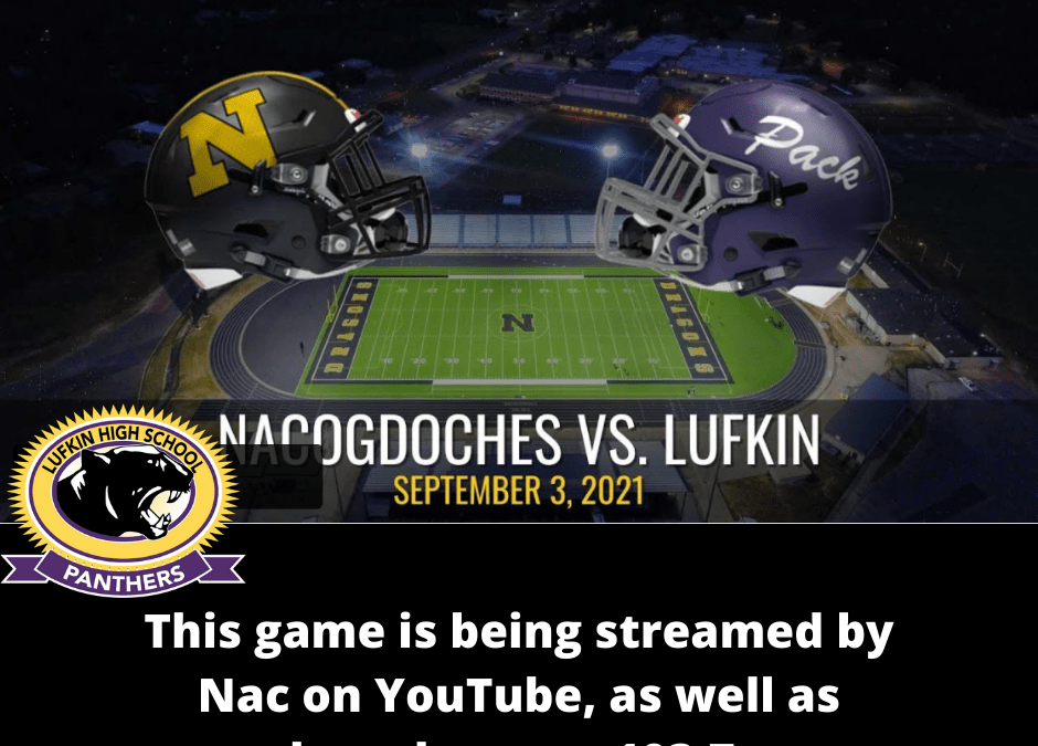 Pack at Nac:  Streaming Info for 9/3/21 Football Game