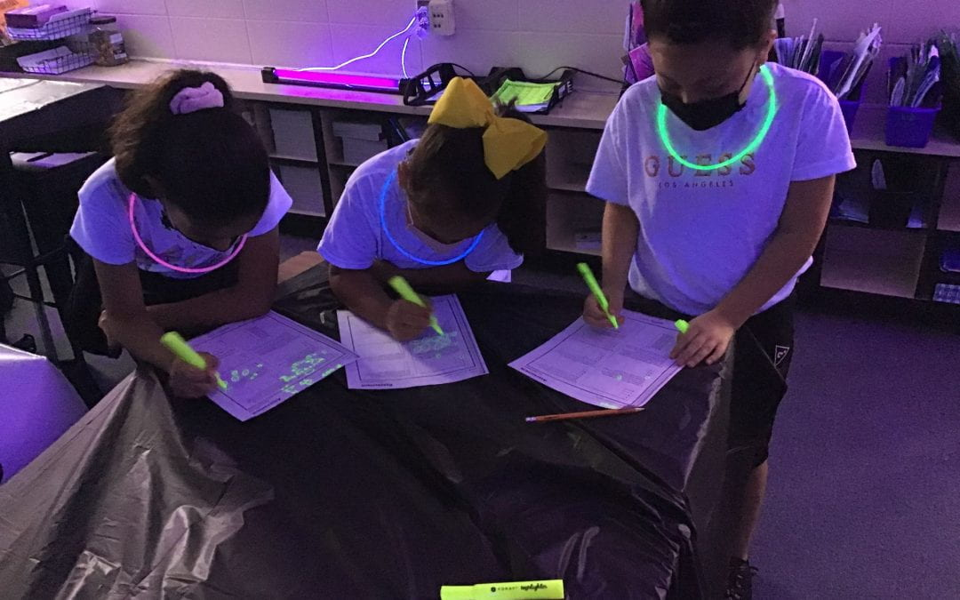 Let's Glow for Math!
