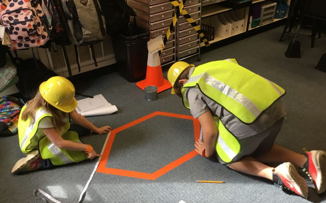 Construction Themed  Measurement Activity