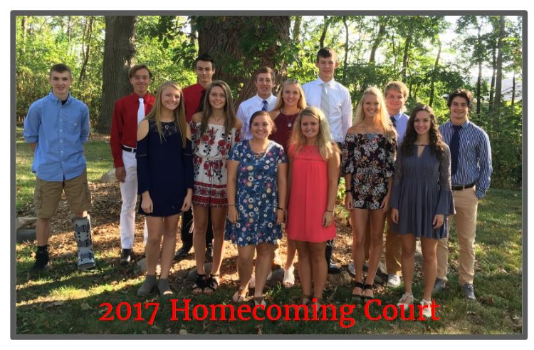 2017 Homecoming Court Picture