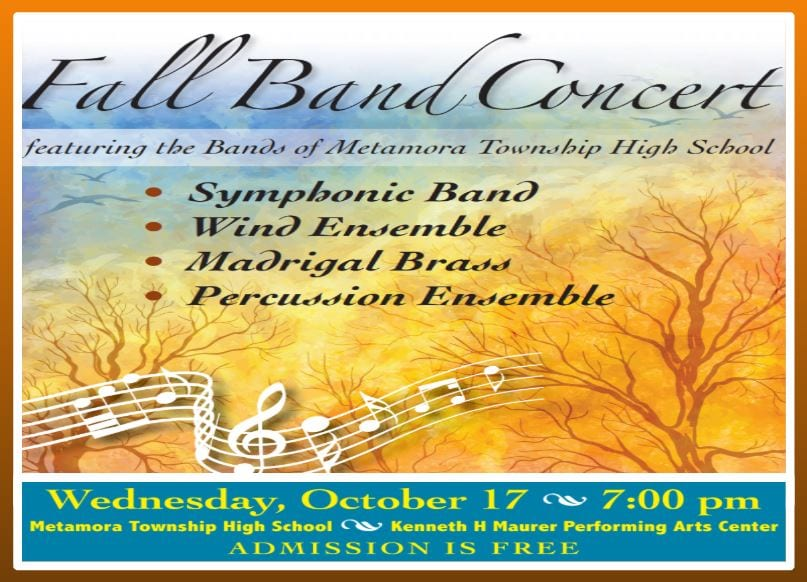 2018 Fall Band Concert