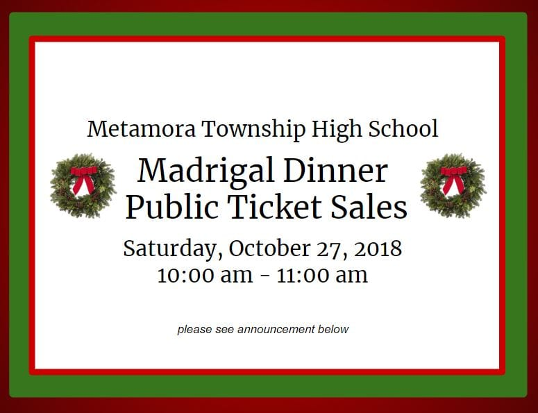 2018 Madrigal Ticket Sales-qkwz7w