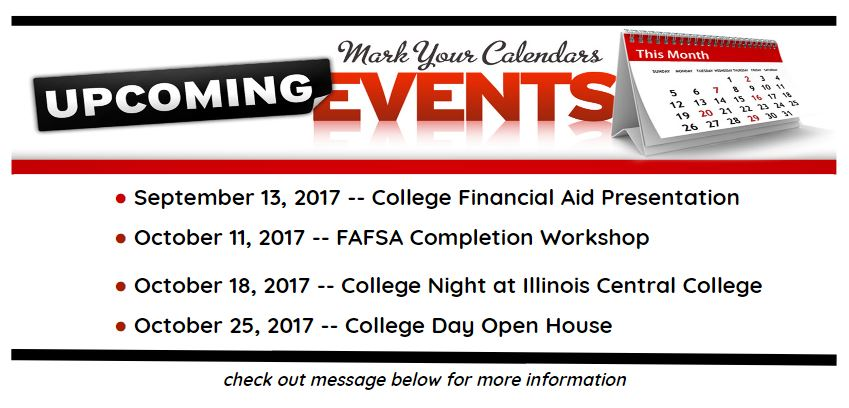 Guidance Upcoming Dates 2017
