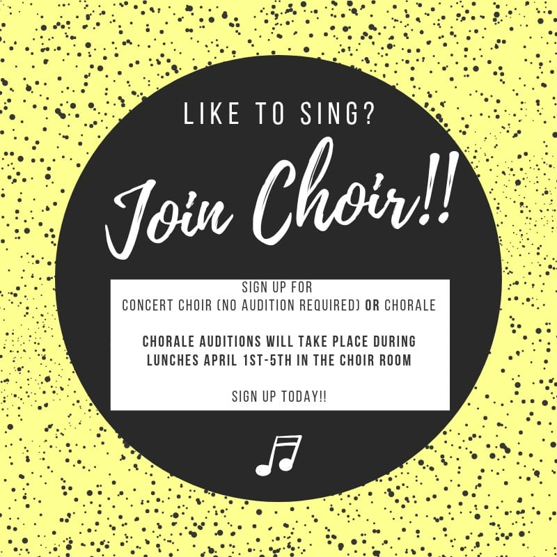 Join Choir Poster - 2019-tku87p