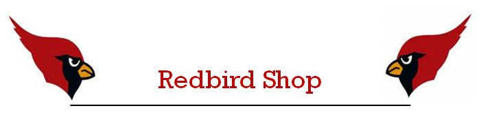 Red Bird Shop Banner - 2 birds