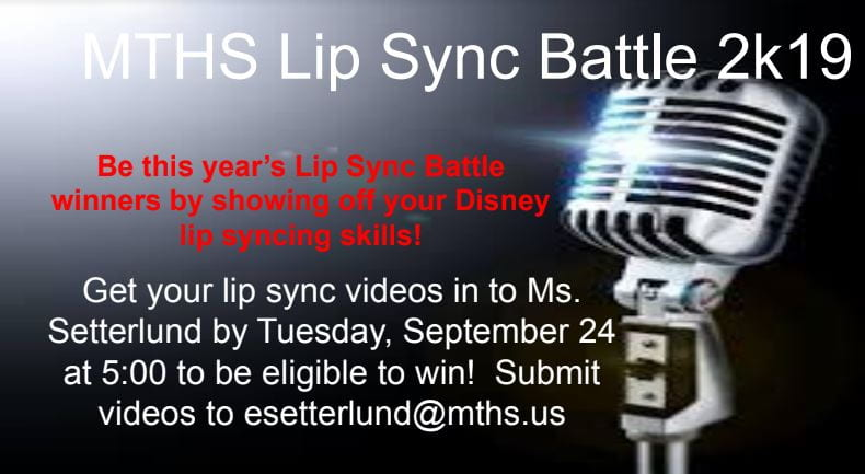 Lip Sync Graphic