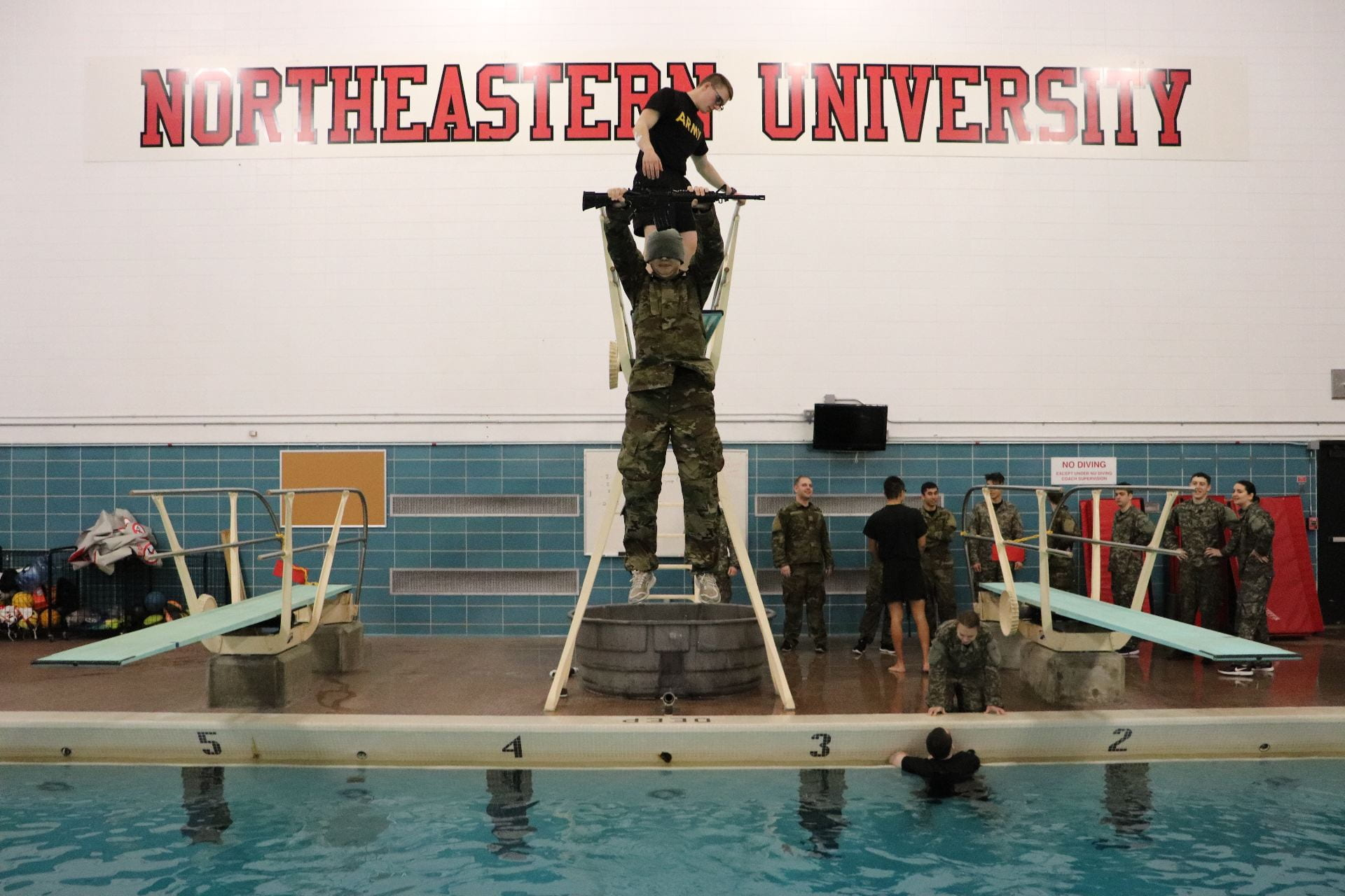 Army Combat Water Survival Test