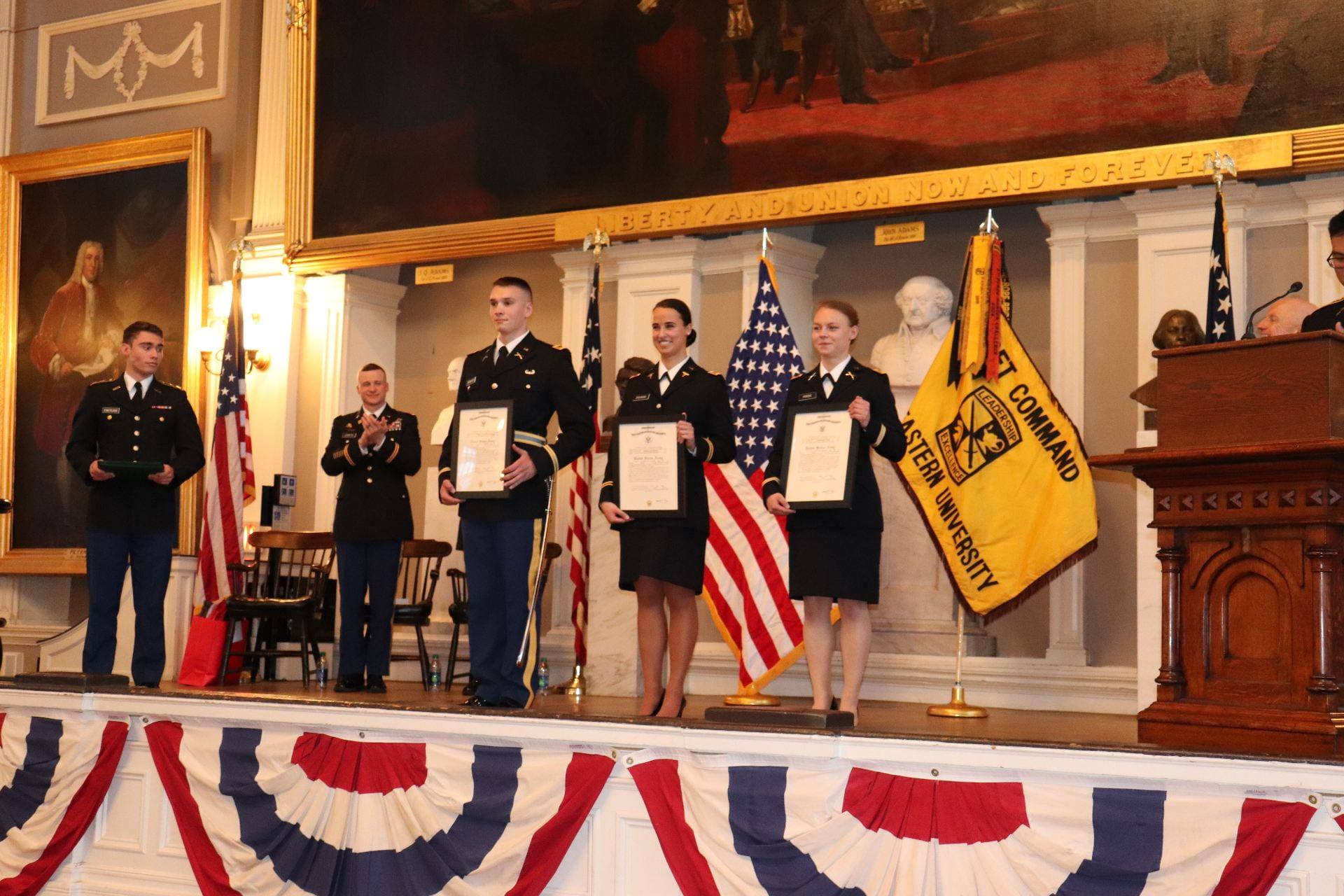 Able Company Commissioning Ceremony