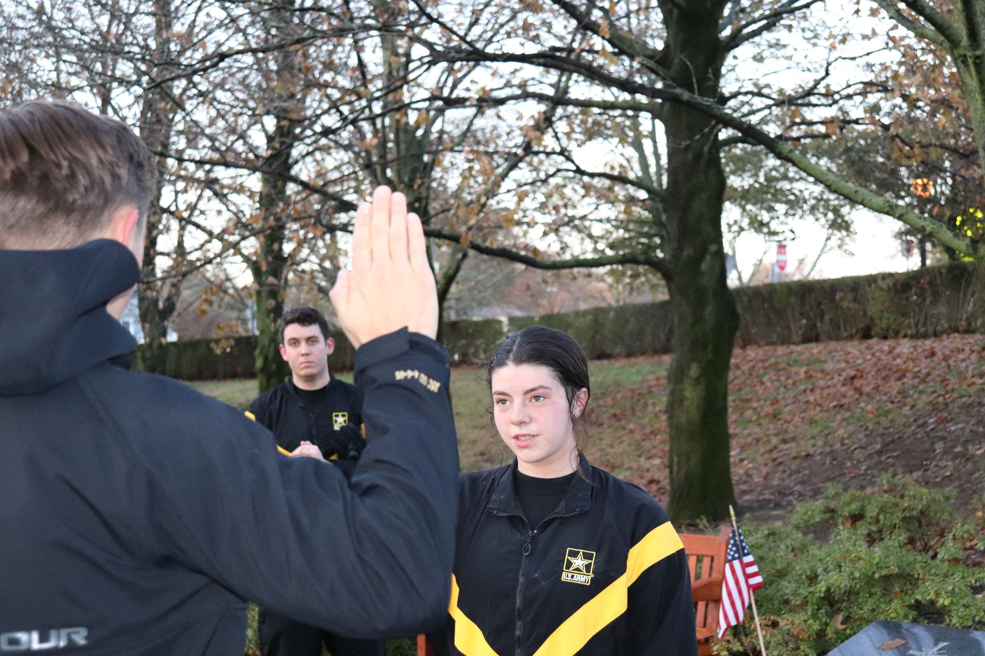 Contracting Cadet Cresci