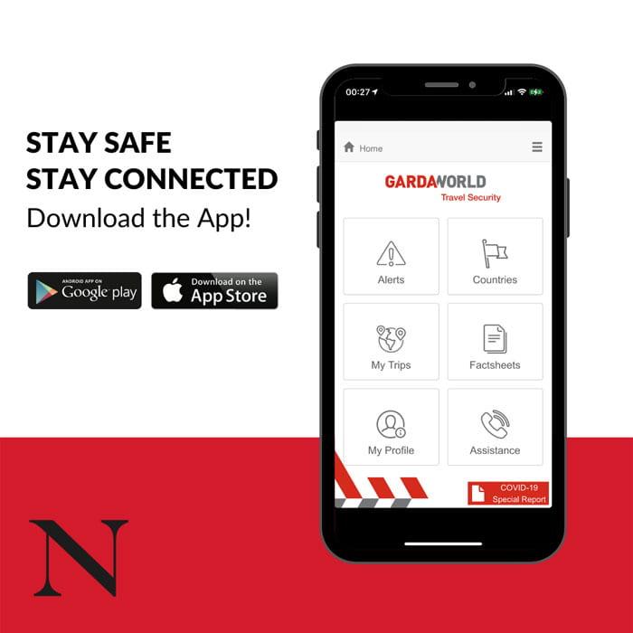 GardaWorld Travel Security App