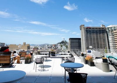 View of San Francisco from our SF campus