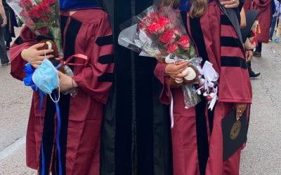 Yian Xu and Jess Leffers Receive Ph.D. Hoods