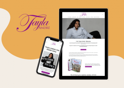 Tayla Made – Website Redesign