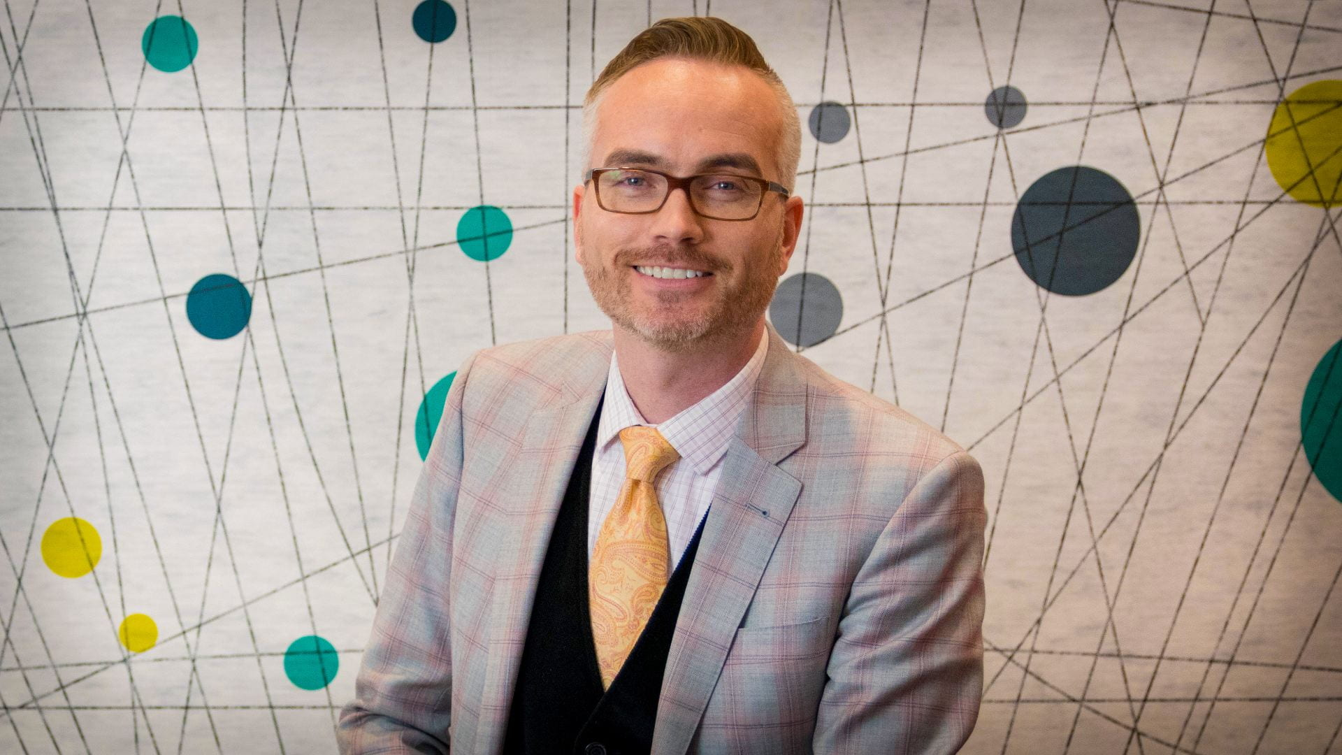 Portrait of Marcus P. Robinson, new associate Vice President of engagement and experience