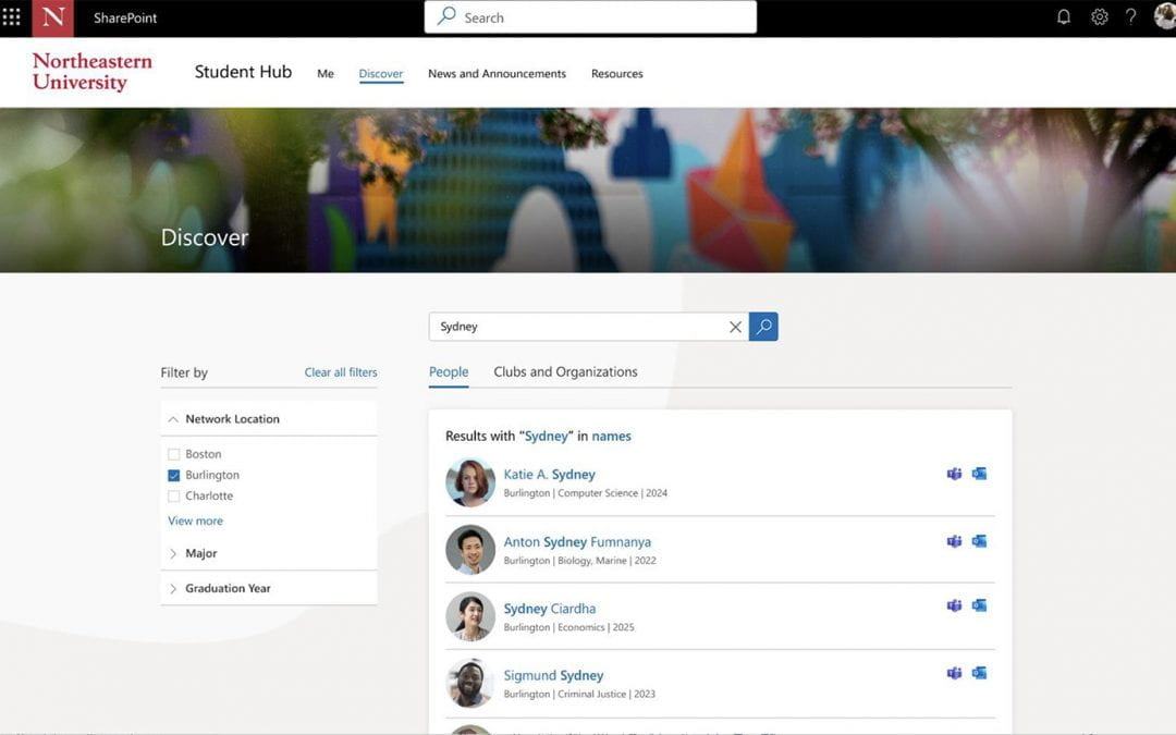 New Enhancements to the Student Hub Centralize Academic Needs and Expand Personal Growth