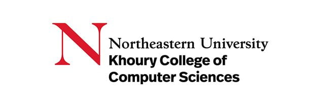 Logo for Northeastern University's Khoury College of Computer Sciences