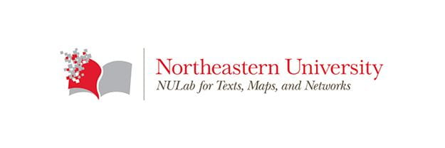 logo for NULab for Texts, Maps and Networks