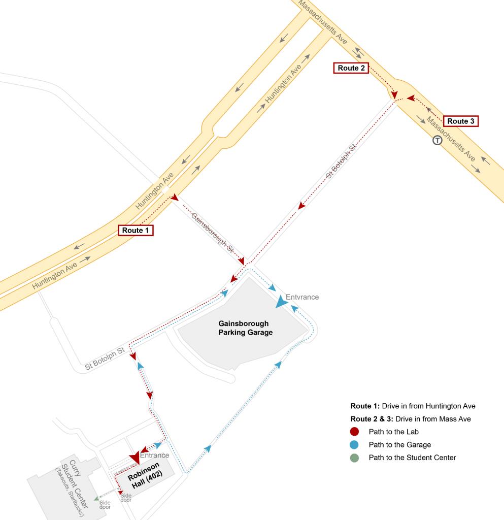 Path to Robinson Hall