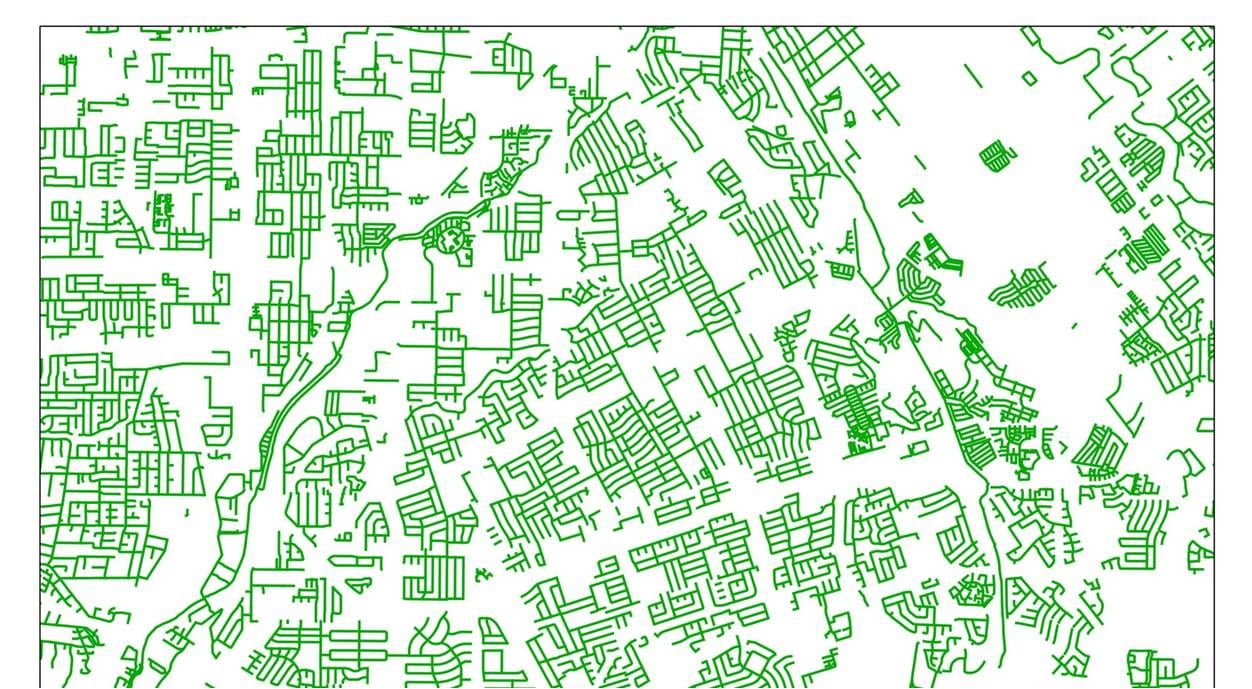 Connectivity of Low-Stress Bicycle Networks