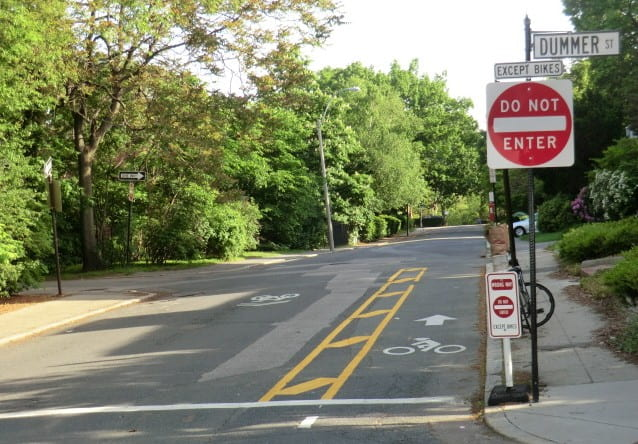 Bicycle Contraflow Could Have a Large Impact on Greater Boston's Bike Network