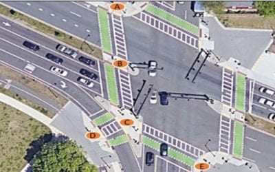Poor Signal Phase Coordination Results in 4-Minute Pedestrian Delay at Forest Hills