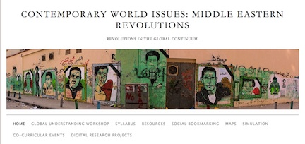image of Class blog for Contemporary World Issues, taught by Chris Micklethwait