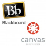 Blackboard and Canvas Logos