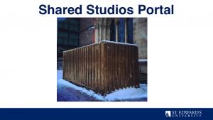 Shared Studios Portal
