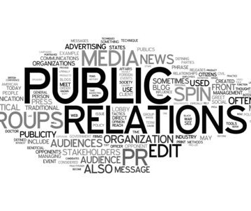 The makings of public relations