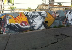 Rita Kelly:  Graffiti in Valparaiso and Viña Del Mar