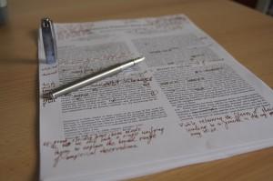 Writing Editing