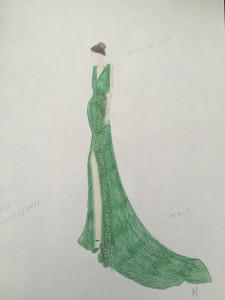 One of my elegant dress designs