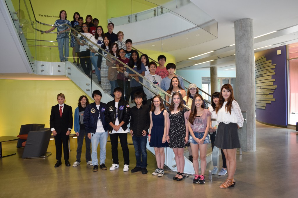 The first 30 students at Go-For-Launch St. Edward's University, 11 - 13 July 2016.