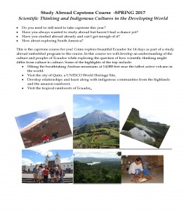 CAPSTONE Study Abroad Ecuador 2017 Flyer_Page_1