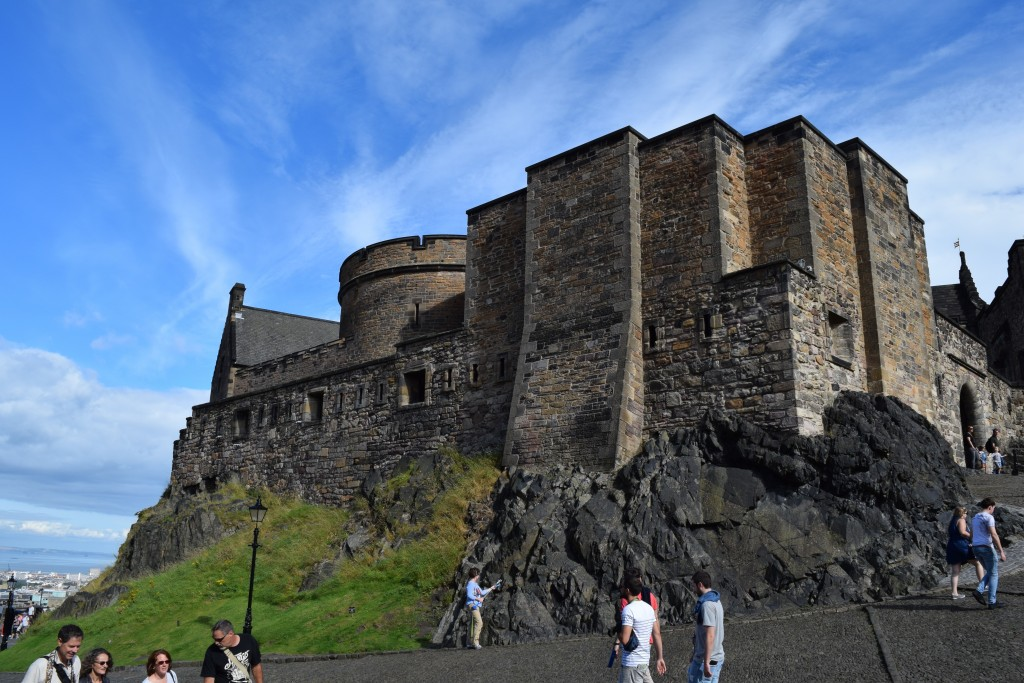 The Edinburgh Castle, near the Edinburgh International Conference Center, site of the 2016 Quadrennial Ozone Symposium.