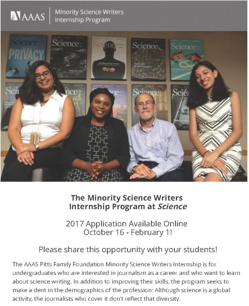 aaas_minority_science_writers_internship_with_science_accepting_applications1_page_1