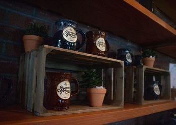 Merchanise Shelf at Avery Ranch