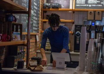 Cashier at Front Desk