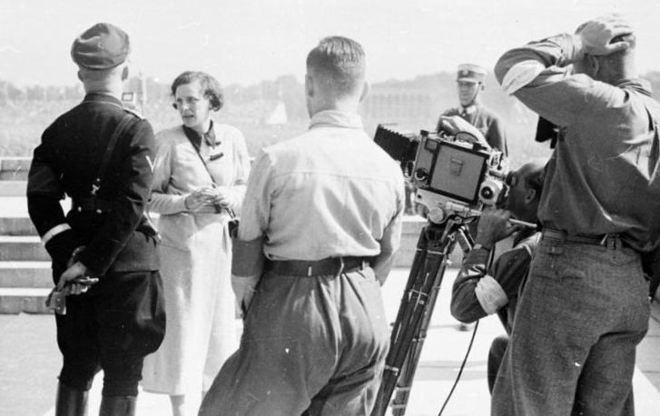 Riefenstahl was one who changed the face of documentary film forever. Her  use of physical gaps and hierarchical distinction between leader and  followers are ...
