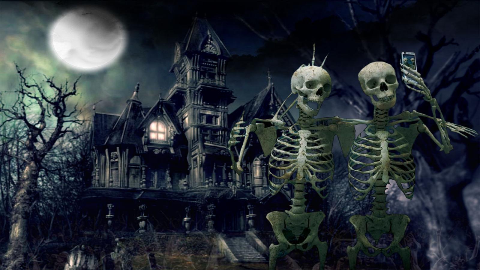 scary halloween desktop wallpaper - Pictures Of Halloween